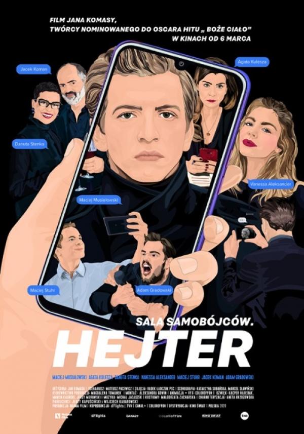 """Sala Samobójców. Hejter""  Premiera!"